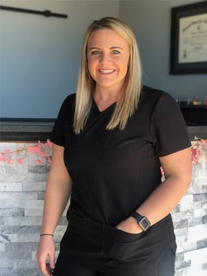 Meet Jayci, Cornerstone Chiropractic assistant