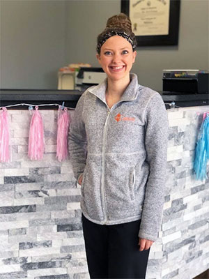 Meet Keona, Cornerstone Chiropractic assistant